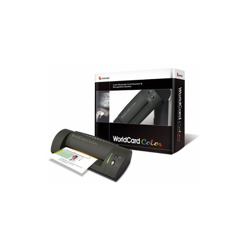 Business Card Scanner PenPower Worldcard Color
