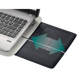 Lapdesk Logitech Touch N600 with Touchpad