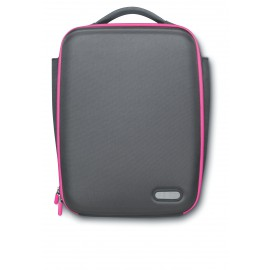 Philips Sle5100Pn Netbook Bag With Heatprotect 27.9 Cm (10inch), Magenta/Grey