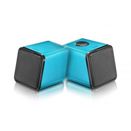 DiVoom Iris-02 USB Notebook Speakers -Blue.