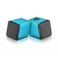 DiVoom Iris-02 USB Notebook Speakers -Blue.