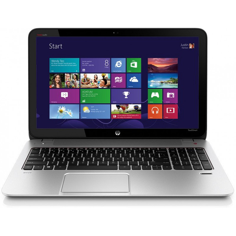 hp envy touchsmart 15 j003cl notebook pc core i7 4th g 8gb ram 1tb. Black Bedroom Furniture Sets. Home Design Ideas