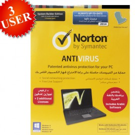 Norton Internet Security 2014 For 1+2 User - 1 Year