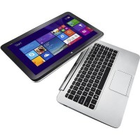 "HP Split x2  core i5 13.3"" Touch-Screen Laptop 4GB Memory 128GB SSD Silver"