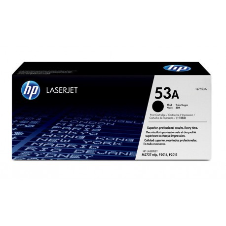 Original HP 53A (Q7553A) Black LaserJet Toner Cartridge