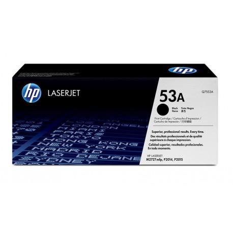 Original HP 53A (Q7553A) Black LaserJet Toner Cartridge