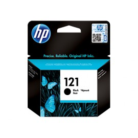 Original HP 121 Black ink cartridge CC640 *200 pages*