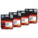 Original Hp 655 C/M/Y/K Cartridges . Price is Per piece.