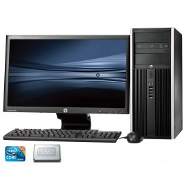 Hp Desktop Elite 8300 Desktop Computer Core i7 8 GB memory 1TB Hard drive  +256 SSD