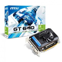 MSI GeForce GT 640 4GB DDR3 128-Bit PCI Express 3.0 x16 HDCP Ready Video Card