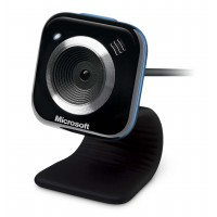 Microsoft LifeCam VX-5000 Webcam (Red Accent) (oem) Non Retail Package.