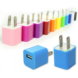 Colored 5w usb power adapter