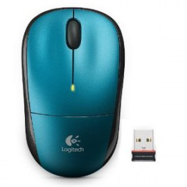 Logitech M215 Wireless Mouse (Blue)