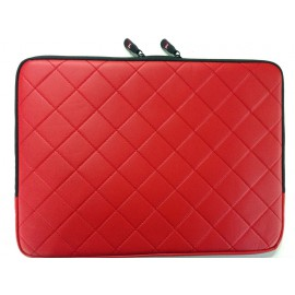 Laptop Sleeve Leather Red/Black/Beige/Blue 13 14 and 15 inch Sleeve