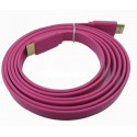 Color Flat HDMI Cable 1.8m Wire 1.4 Version