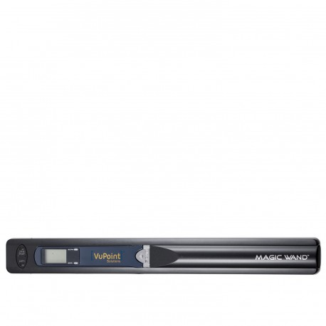 VuPoint Magic Wand Portable Scanner (PDS-ST415-VPS) - Black