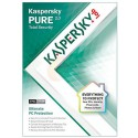 Kaspersky Antivirus and internet Security 3Pcs  PURE 2.0   Redeem card