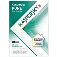 Kaspersky Antivirus and internet Security 3PC PURE 2.0 Redeem card