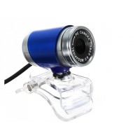 360 Rotating Blue Fashion 30M PC Camera USB 2.0 Webcam HD Camera Web Cam For PC