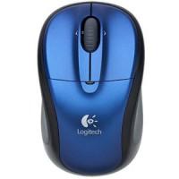 Logitech V220 Wireless Optical Notebook Mouse Blue (oem, no packaging)