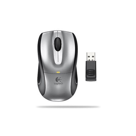 Logitech V450 Nano Cordless Laser Mouse for Notebooks (Silver) OEM No package