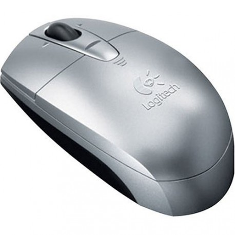 Logitech V200 Cordless Mouse - Silver (Refurbished)(Oem no packaging)