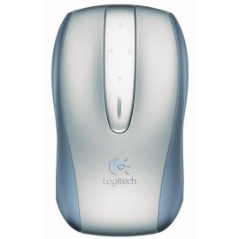 Logitech V500 Touch mouse Cordless Optical Notebook Mouse (Refurbished to like new) (Oem No packaging)