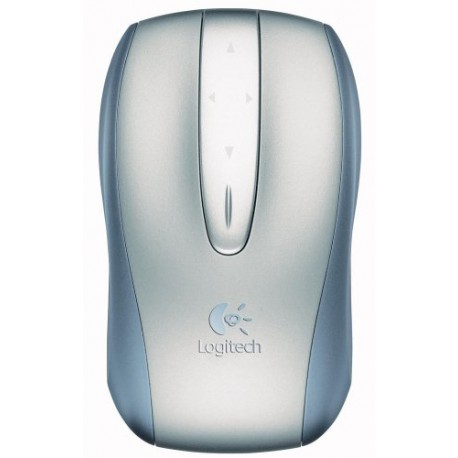 Logitech V500 Cordless Optical Notebook Mouse (Refurbished to like new) (Oem No packaging)