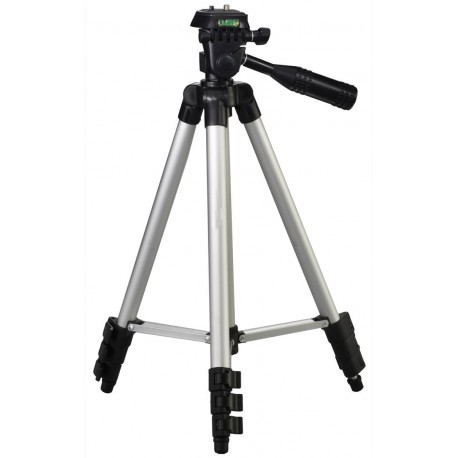 Tripod with 3-Way Panhead 1020 x 350 mm 420g with built in level
