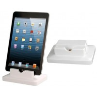 Charger Dock for iPad mini, iPad 4 (White)
