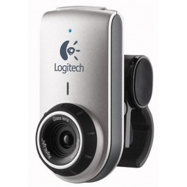 Webcam Logitech QuickCam Deluxe for Notebooks (Silver)(Brown Box)