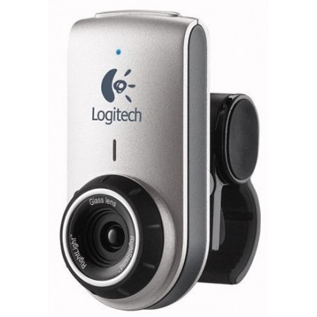 Logitech QuickCam Deluxe for Notebooks (Silver)(Brown Box)