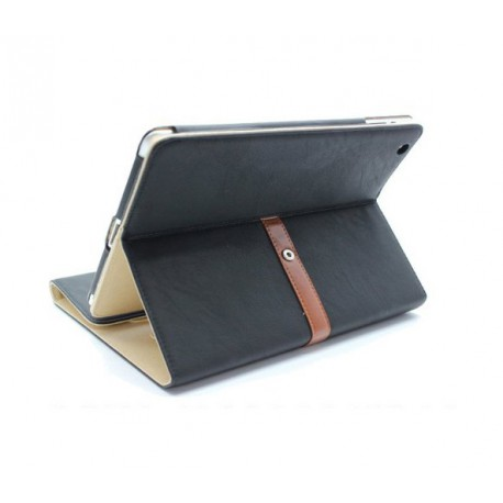 Rotating Belt Leather Case Smart Cover Stand for iPad 2, 3 & 4