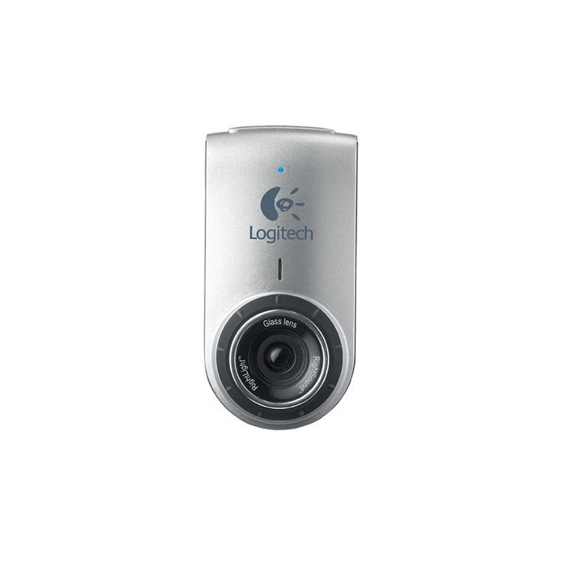 Quickcam deluxe for notebooks webcam silver