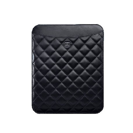 Luxury Chanel Style Ipad leather pouch