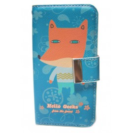 Hello Geeks Design Wallet iphone case for 5/5s 4/4s