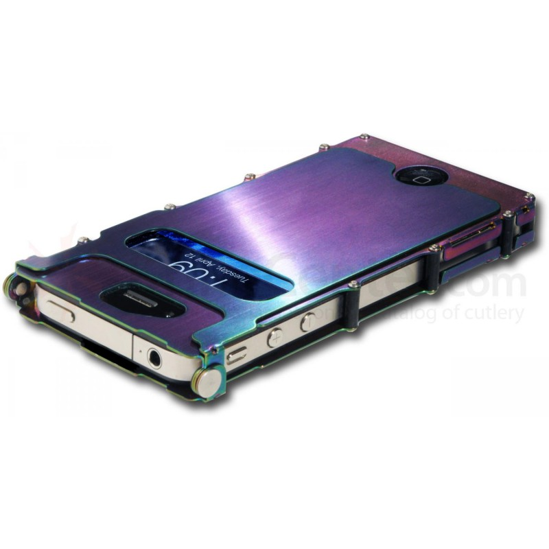 sports shoes 1c5a4 011f2 Stainless Steel case inox for iphone 4/4s