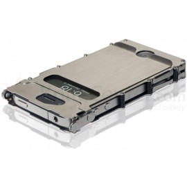 iNoxCase 360 Degree Stainless Steel iPhone 4/4S Case