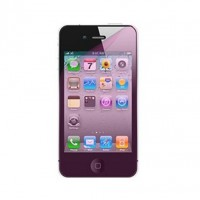 Pink Screen Protector Cover Film for Apple iPhone 4 & 4s