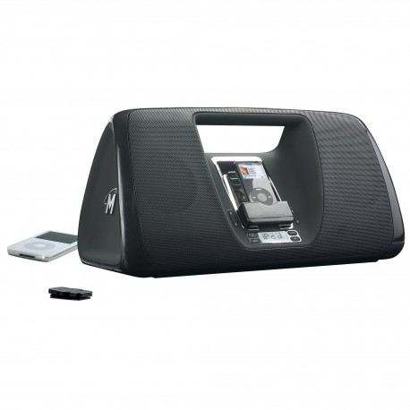Memorex Mi3005BLK iMove Boombox for iPod (Black)