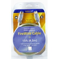 GoldX® GX1394AA-15 FireWire® Device Cable