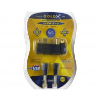 GoldX QuickConnect GXQU-06 USB 2.0 5-in-1 Cable Adapter Kit - 6FT.