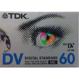 TDK Mini DV LP:90 DV60 Digital Video Tape
