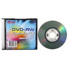 Melody Mini DVD-RW 1-2x 2.8GB 60mins