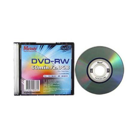 Melody Mini DVD-RW 1-2x 2.8GB double side single