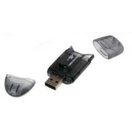 USB card reader USB 2.0 SDHC SD MiniSD MMC Memory Card Reader
