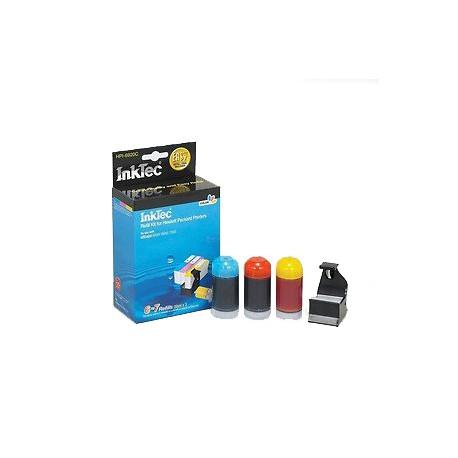 Inktec Refill Kit Inkjet Cartridge-Cyan/Magenta/Yellow