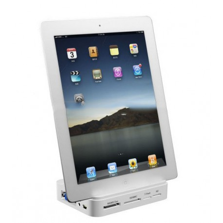 All  in one Dock, Multi-function Dock for ipad / iphone