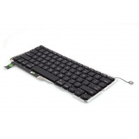 "Laptop Keyboard for Apple Macbook Pro 15"" Unibody A1286 Black"