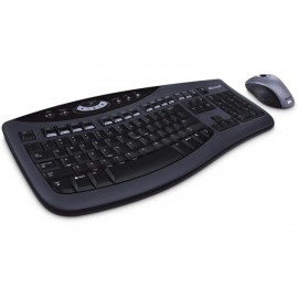 Microsoft Ergonomic Wireless  Desktop  Keyboard and Mouse Combo (Brown Box)